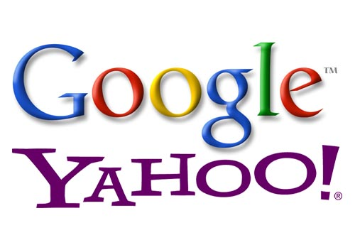 Yahoo testing Google search results and Ads